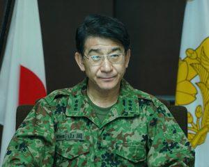 山岡統合部隊指揮官